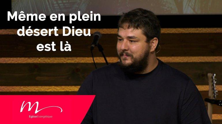 Même en plein désert Dieu est là ! - Nicolas Gauthier