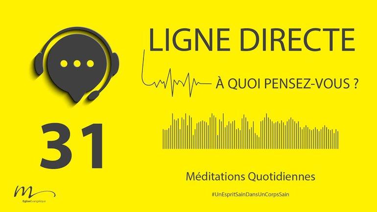 Ligne Directe Méditation 31 - Pour bien vivre ensemble - Jean-Pierre Civelli