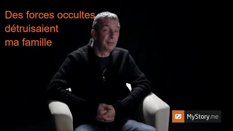 """MyStory - Thierry Noël : """"Des forces occultes détruisaient ma famille"""""""