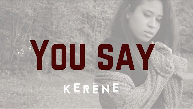 YOU SAY - LAUREN DAIGLE COVER IN FRENCH 🇨🇵| Lyrics version