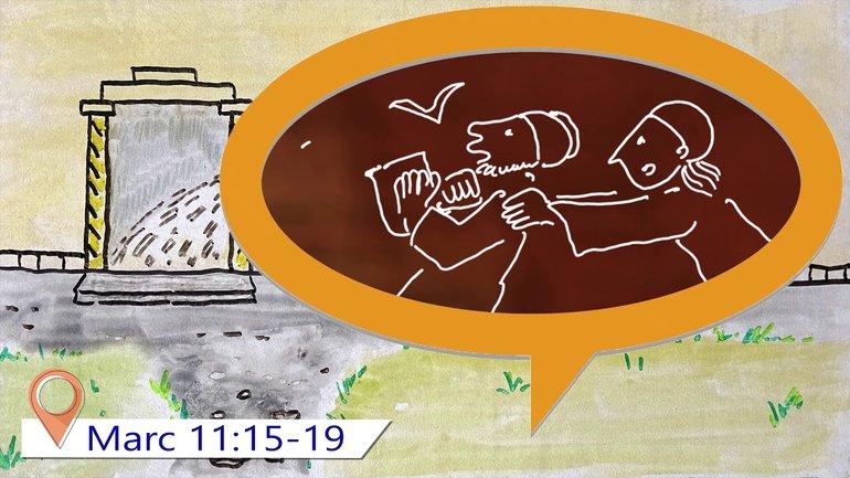 Évangile de Marc Chapitre 11 (pour enfants à partir de 10 ans)
