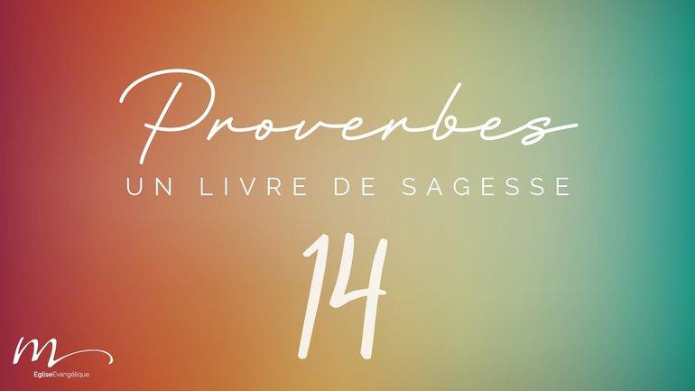 Proverbes Méditation #14 - Jéma Taboyan - Proverbes 10.1-32