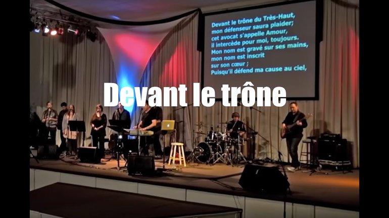 Devant le trone, Jem 739 - Louange Vivante & Sylvain Freymond