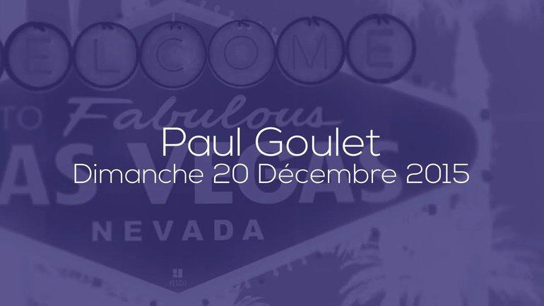 PAUL GOULET - 20/12 - LE ROI