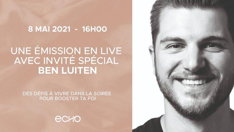 ECHO Live 2021, rendez-vous le 8 mai 2020 !