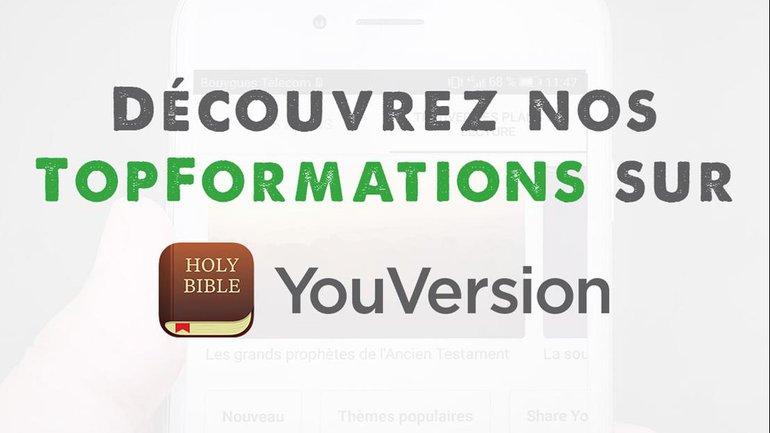 Découvrez nos plans de formation sur YouVersion !