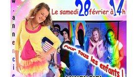 Le spectacle musical Annenciel et sa troupe bruyante du 27 Février au 01 Mars 2015