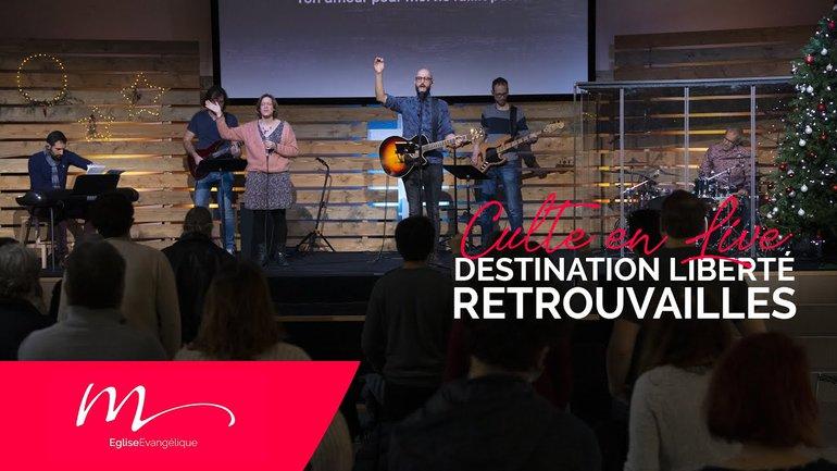 Destination Liberté S2E5 Retrouvailles - Jérémie Chamard - Culte du 27 Décembre 2020