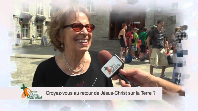 Croyez-vous au retour de Jésus-Christ sur la terre ?
