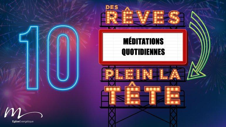 Des Rêves Méditation 10 - Actes 5.34-42 - Église M