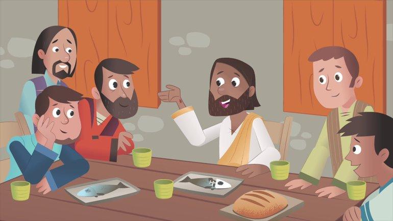 Un dimanche de fête - La Bible App pour les Enfants - Histoire 33