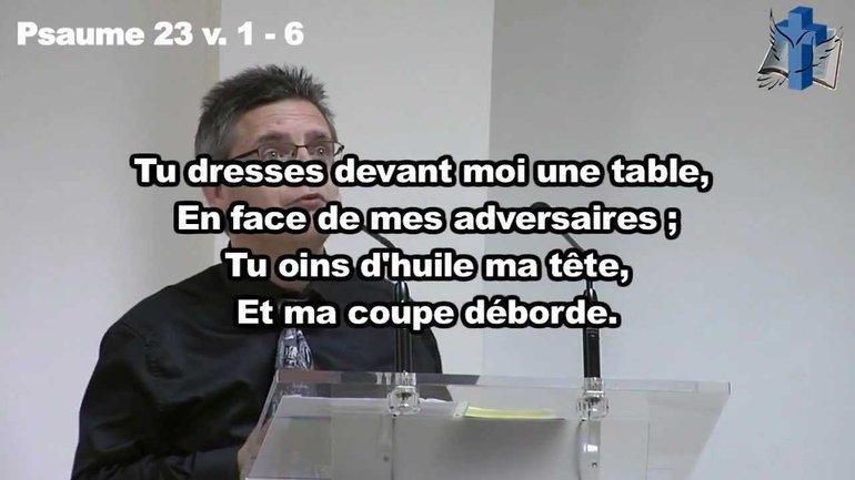 Alain Courret - L'Eternel est mon berger ...