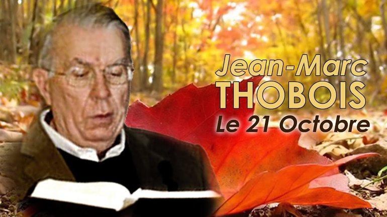 Jean-Marc Thobois - L'aliyah comme condition de la rencontre avec Dieu