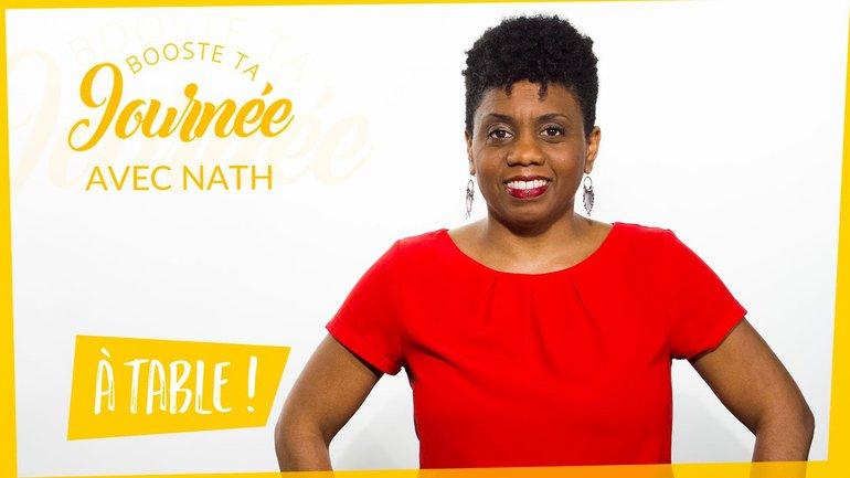 Booste ta journée - Nathalie Almont - A table !