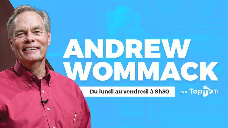 Andrew Wommack, un prédicateur exceptionnel arrive sur TopTV !