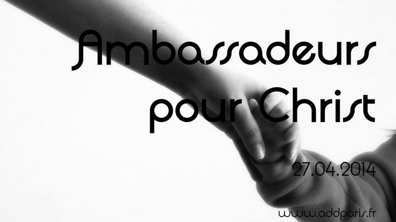 Fabrice Ecrabet - Ambassadeurs pour Christ
