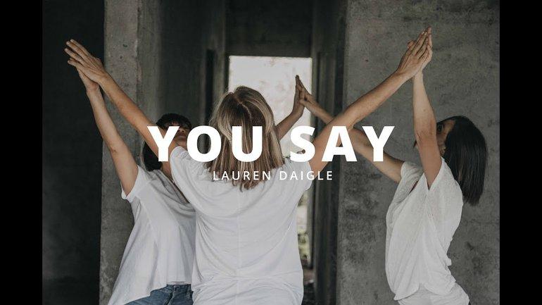 You Say (Tu dis)  - Lauren Daigle (cover version française) -  Dance vidéo