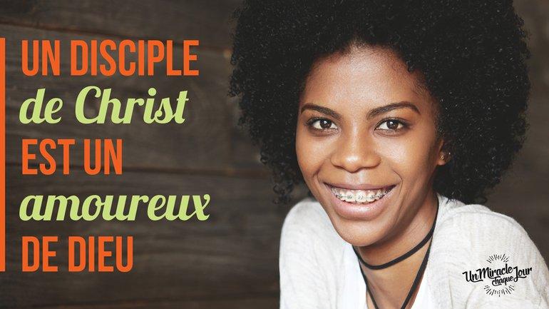 🥰 Un disciple fait ce qu'il faut !