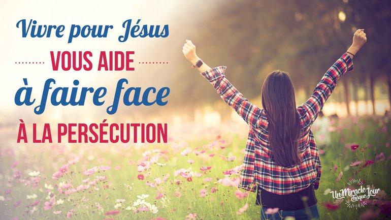 😁 Sautez de joie… face à la persécution 🤔