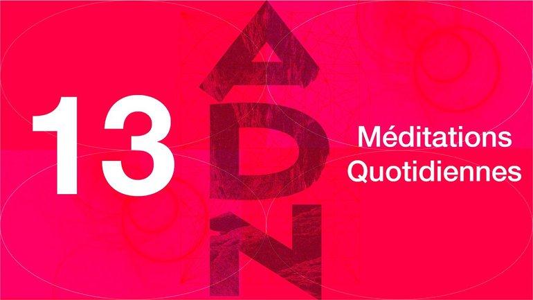 ADN Méditation 13 - Génies torturés - Éphésiens 2.10 - Église M