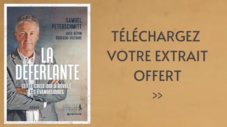Découvrez le premier livre du Pasteur Samuel Peterschmitt