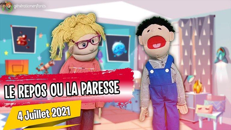 """Culte Génération Enfants du 4 juillet 2021 """"Le repos ou la paresse""""."""