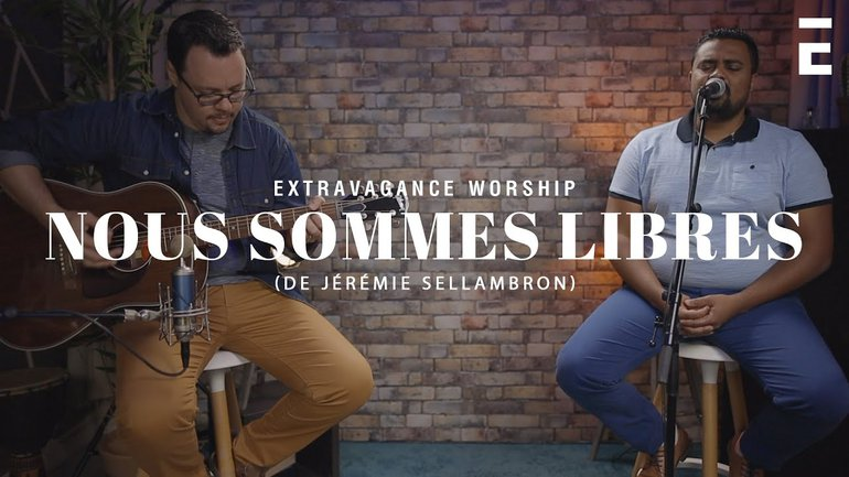 Nous Sommes Libres - Jérémie Sellambron | Extravagance