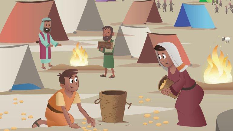 Dieu ouvre un chemin - La Bible App pour les Enfants - Histoire 10