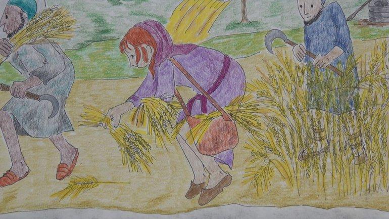 Ruth et Noémie. Une histoire de migrantes tirée de la Bible par la conteuse Marie Ray