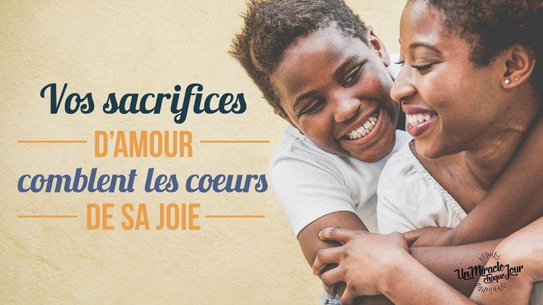 🙇🏾Goûtez à la joie du sacrifice 🙇🏾♀️
