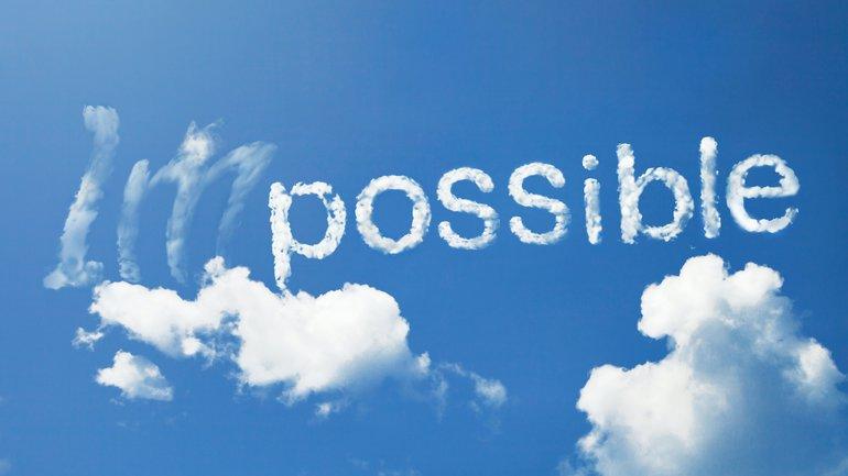 Ce qui est impossible à l'homme est possible à Dieu !