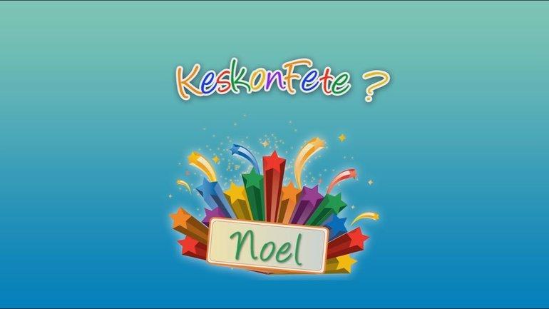 Keskonfete - Noël
