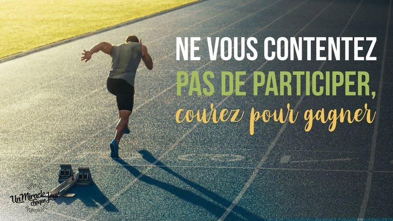 🏃🏿♂️ Courez pour gagner ! 🏆