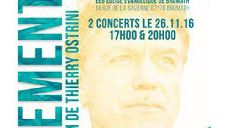 Concert Thierry Ostrini & band - 26 novembre - 67170 Brumath