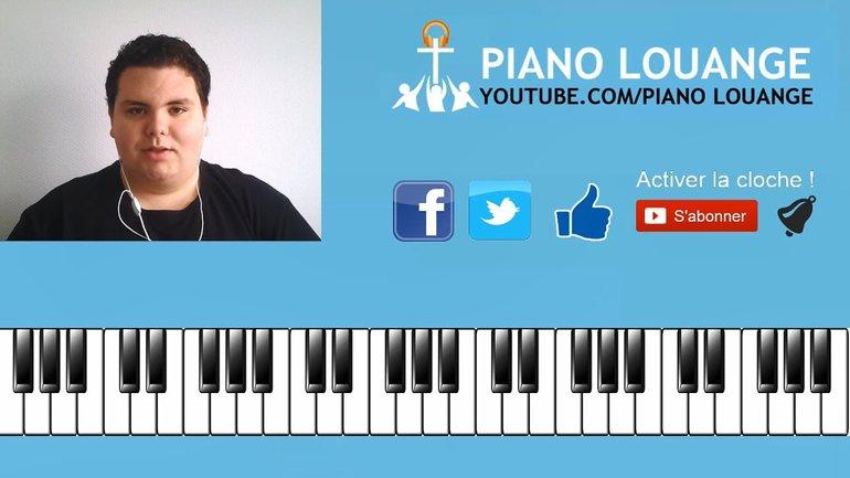 Je reconnais que Tu peux tout - PIANO LOUANGE