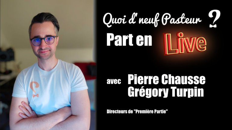 En direct avec Pierre Chausse et Grégory Turpin