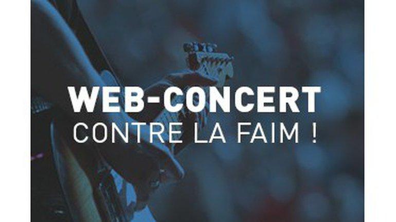 Web-concerts contre la faim : plus de 15 artistes se mobilisent !