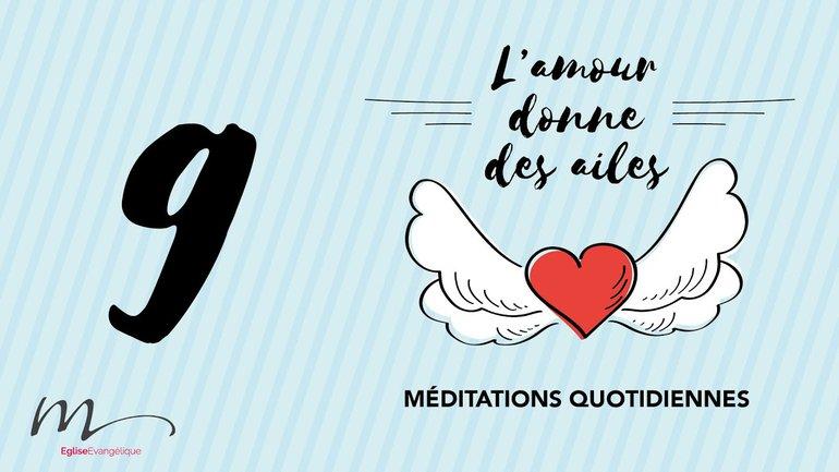 L'amour Méditation 9 - 1 Jean 4.18 - Église M