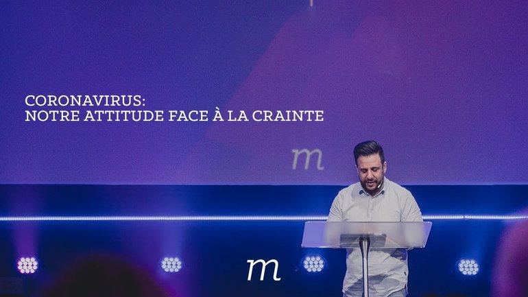 Coronavirus : notre attitude face à la crainte - Patrice Martorano