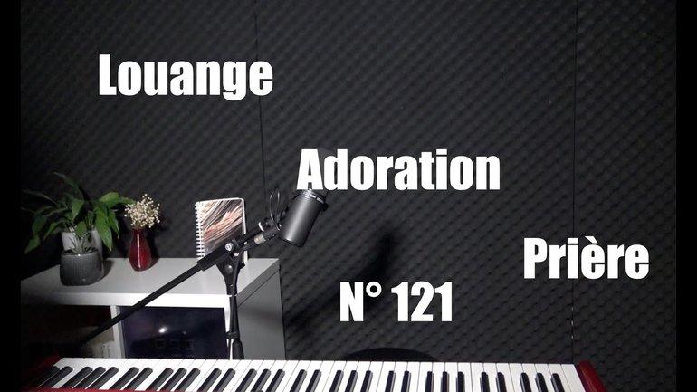 Louange, adoration et prière à la maison - Session 121 par Sylvain Freymond