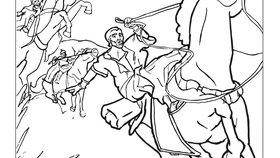 Saul sur la route de Damas
