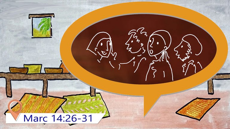 Évangile de Marc Chapitre 14 (pour enfants à partir de 10 ans)