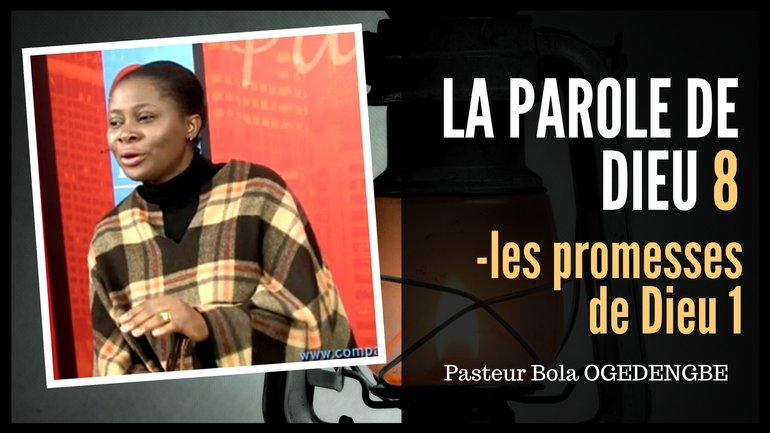 Olivia Bola Ogedengbe - Les promesses de Dieu (1)