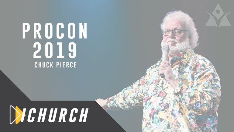Conférence Prophétique - ICLV 2019 - Chuck Pierce Culte 1