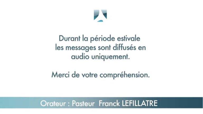 Franck Lefillatre: Autorité et puissance dans le Royaume de Dieu