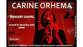 Carine ORHEMA en concert le 12 décembre 2015 – Les Mureaux 78130