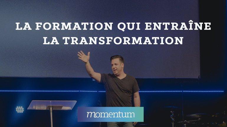 La formation qui entraine la transformation
