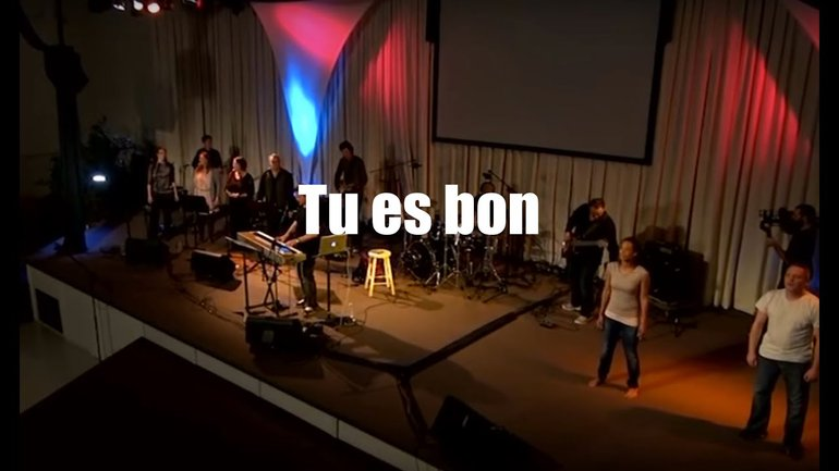 Tu es bon, Jem 950 - Louange vivante, Sylvain Freymond