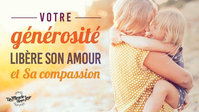 🎁 Votre générosité libère Son amour ! 🥰
