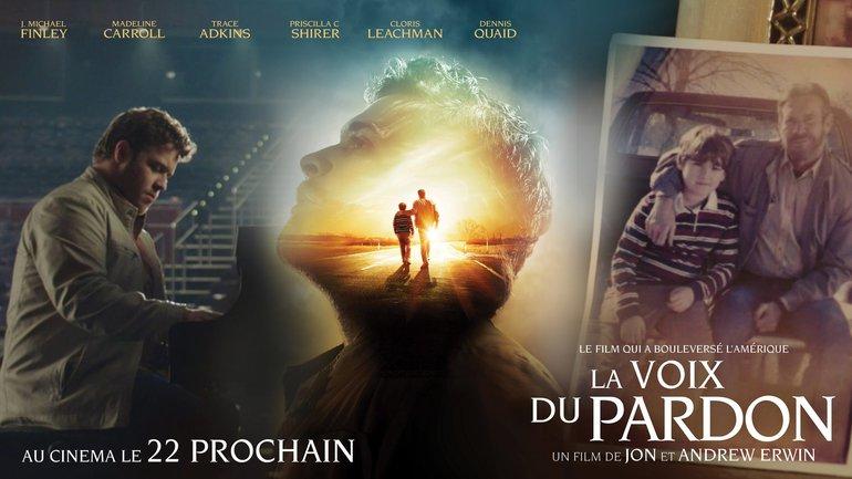 """""""La voix du pardon"""" au cinéma le 22 mai"""